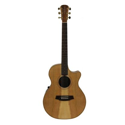 Cole Clark Angel 2 Acoustic Guitar with Pickup/Cutaway - Cedar Of Lebanon/Blackwood