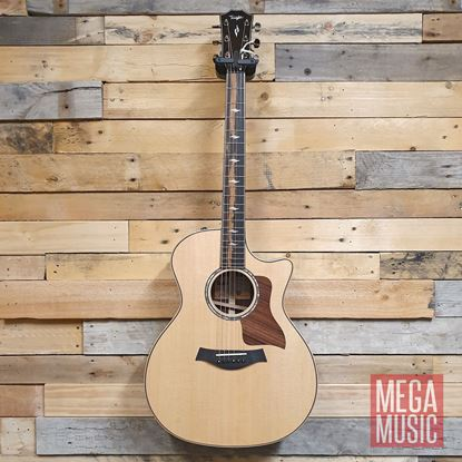 Taylor 814ce Spruce/Rosewood Acoustic Guitar with Pickup and Cutaway Front