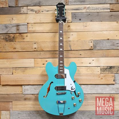 Epiphone Casino Electric Guitar - Turquoise - Front