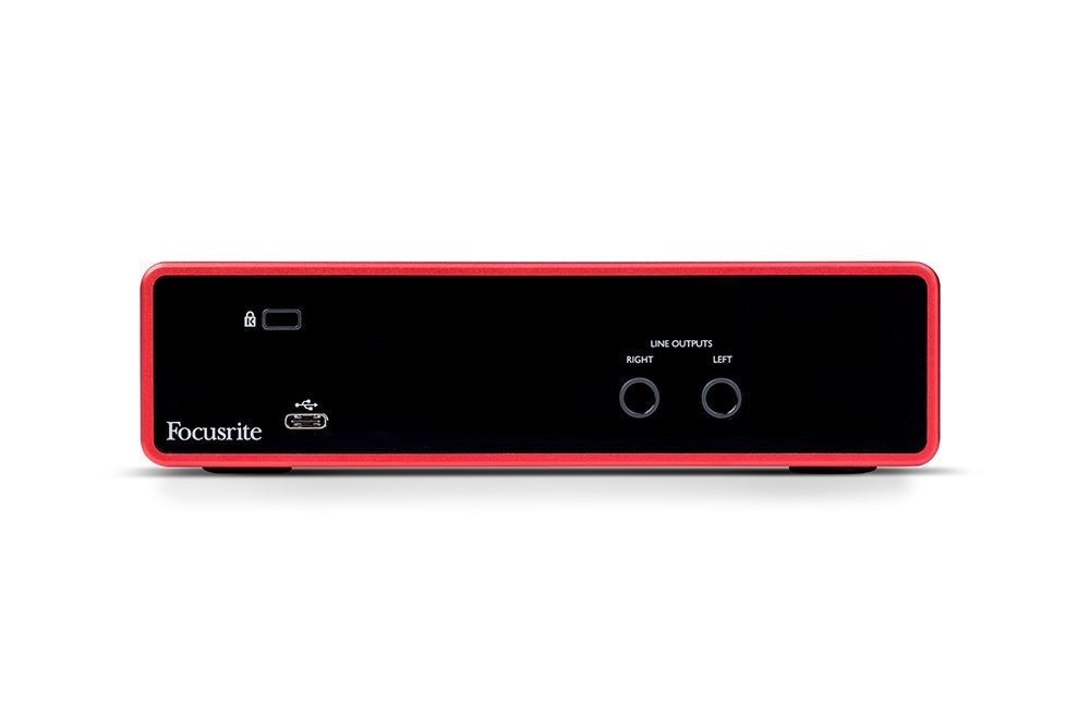 Focusrite Scarlett 2i2 3rd Gen Audio Interface Rear