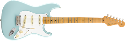 Fender Vintera 50s Stratocaster Modified Electric Guitar MN - Daphne Blue