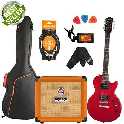 Epiphone Les Paul Special VE & Orange Crush 12 Guitar & Amp Starter Pack - Vintage Cherry