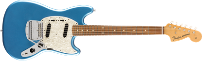 Fender Vintera 60s Mustang Electric Guitar PF - Lake Placid Blue