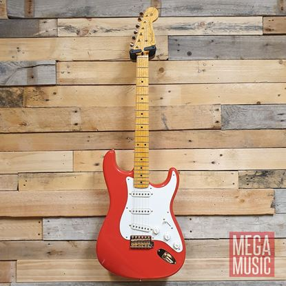 Fender Custom Shop Limited Edition 1959 Stratocaster NOS Electric Guitar - Fiesta Red Front