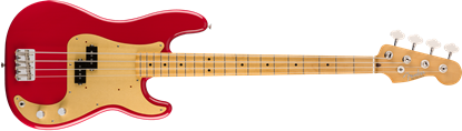 Fender Vintera 50s Precision Bass Guitar MN - Dakota Red