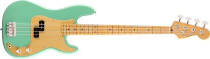 Fender Vintera 50s Precision Bass Guitar MN - Sea Foam Green