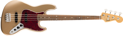 Fender Vintera 60s Jazz Bass Guitar PF - Firemist Gold