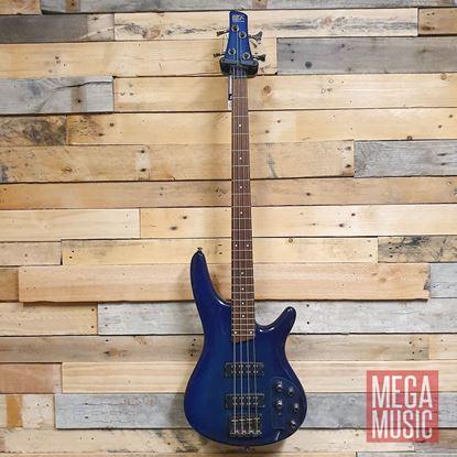 Ibanez SR370E 4 String Bass Guitar - Sapphire Blue Front