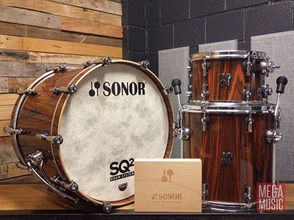 Sonor SQ2 Rosewood Gloss Shell Pack