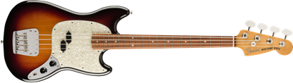 Fender Vintera 60s Mustang Bass Guitar PF - 3-Colour Sunburst