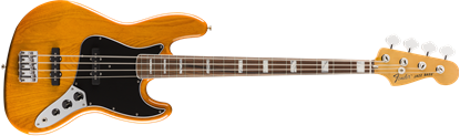 Fender Vintera 70s Jazz Bass Guitar PF - Aged Natural