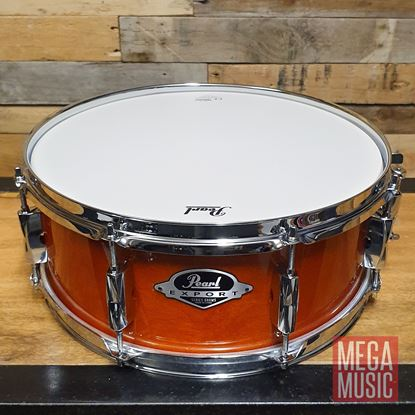 Pearl EXL1455 Export 14x5.5in Snare Drum - Honey Amber - Front