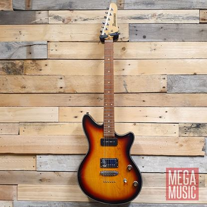 Ibanez CMM3 TFB Chris Miller Signature Model Electric Guitar - Tri Fade Burst - Front