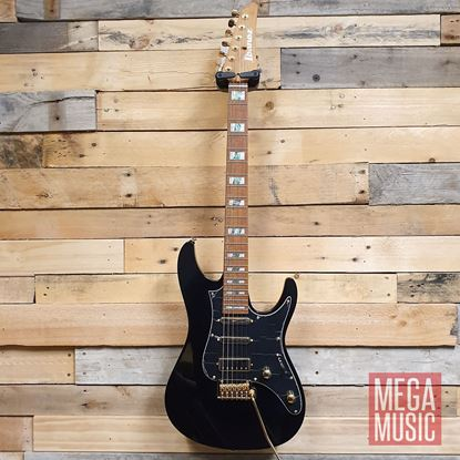 Ibanez THBB10 Tim Henson Signature Model Electric Guitar - Black - Front