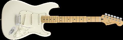 Fender Player Stratocaster Electric Guitar - Maple Neck - Polar White - Front