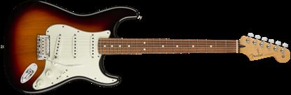 Fender Player Stratocaster Electric Guitar - Pau Ferro Fretboard - 3 Colour Sunburst - Front