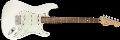 Fender Player Stratocaster Electric Guitar - Pau Ferro Fretboard - Polar White - Front