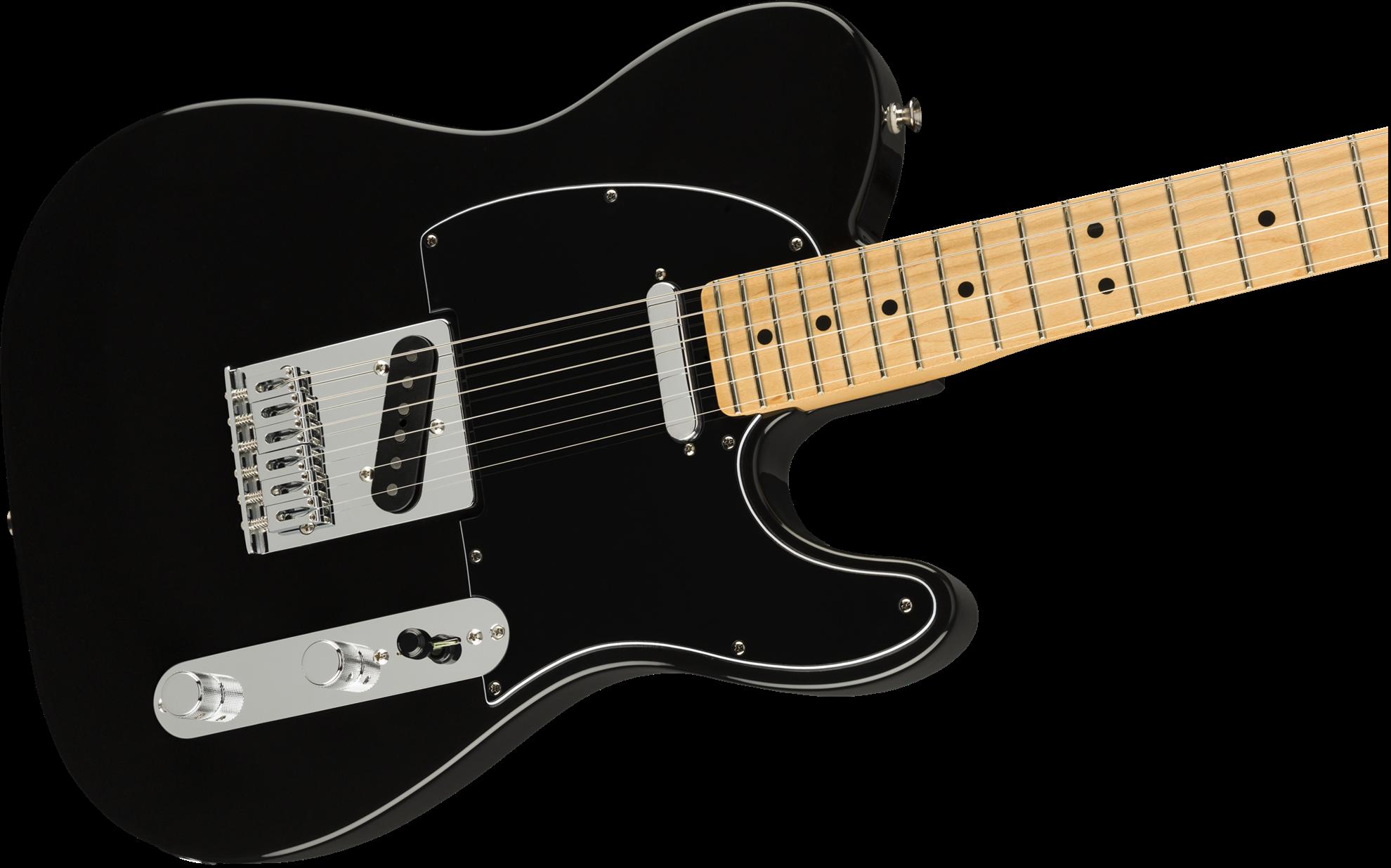 fender player telecaster electric guitar maple neck black perth mega music online. Black Bedroom Furniture Sets. Home Design Ideas