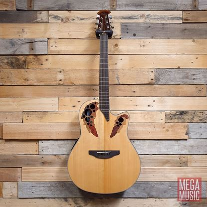 Ovation Celebrity Elite Acoustic Guitar Natural - Front
