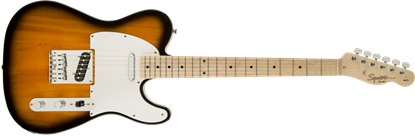 Squier Affinity Telecaster Electric Guitar Maple Neck 2-Colour Sunburst - Front