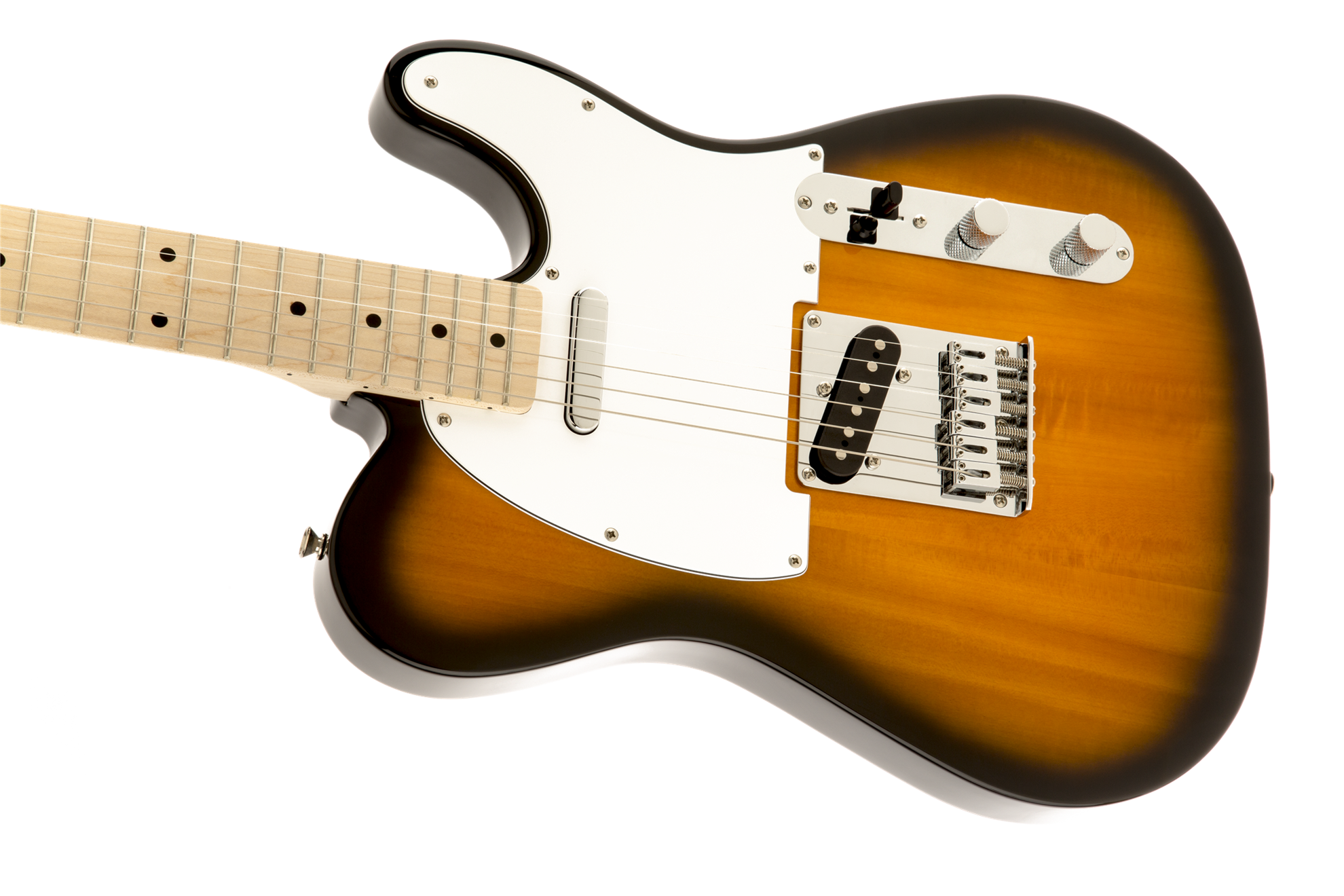 squier affinity telecaster electric guitar maple neck 2 colour sunburst perth mega music online. Black Bedroom Furniture Sets. Home Design Ideas