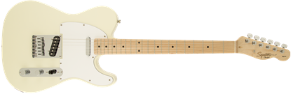 Squier Affinity Telecaster Electric Guitar Maple Neck Artic White - Front