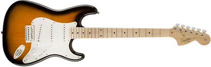 Squier Affinity Stratocaster Electric Guitar - 2 Colour Sunburst - Maple Neck - Front
