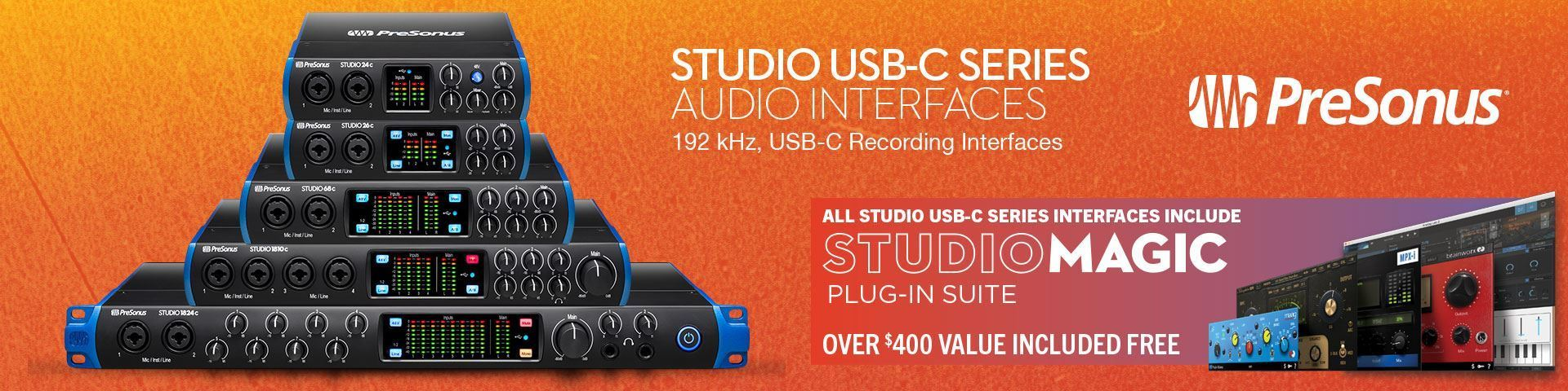 Presonus USB Audio Interfaces