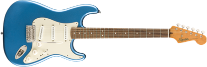 Squier Classic Vibe 60s Stratocaster Electric Guitar LRL Lake Placid Blue - Front