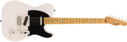 Squier Classic Vibe 50s Telecaster Electric Guitar MN White Blonde - Front