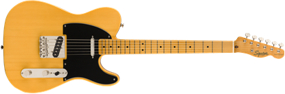 Squier Classic Vibe 50s Telecaster Electric Guitar MN Butterscotch Blonde - Front