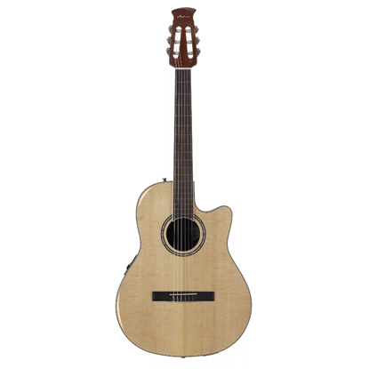 Ovation Applause Standard Special Nylon Guitar Natural Cedar - Front