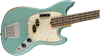Fender JMJ Justin Meldal-Johnsen Signature Road Worn Mustang Bass Guitar RW Faded Daphne Blue - Right