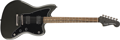 Squier Contemporary Active Jazzmaster ST Electric Guitar Graphite Metallic - Front