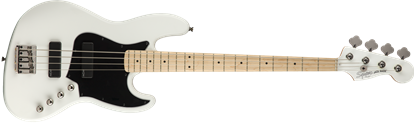 Squier Contemporary Active Jazz Bass Guitar HH Flat White - Front