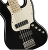 Squier Contemporary Active Jazz Bass Guitar HH V Black - Body