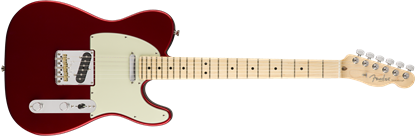 Fender American Professional Telecaster Electric Guitar MN Candy Apple Red - Front