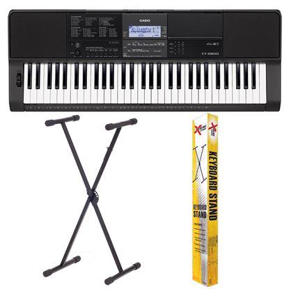 Casio CT-X800 61 note Keyboard w/FREE KS120 Keyboard Stand