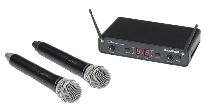 Samson Wireless CON88HANDHELD Dual UHF Wireless System