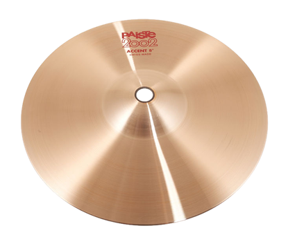Paiste 08 inch 2002 Accent