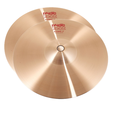 Paiste 08 inch 2002 Accent Cymbal Pair