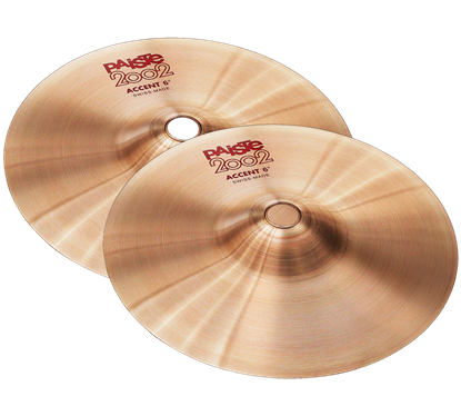 Paiste 06 inch 2002 Accent Cymbal Pair