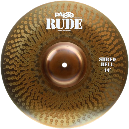 Paiste 14 Rude Shred Bell
