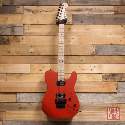 Charvel Pro Mod San Dimas Style 2 HH Floyd Rose Maple Neck Electric Guitar Satin Red