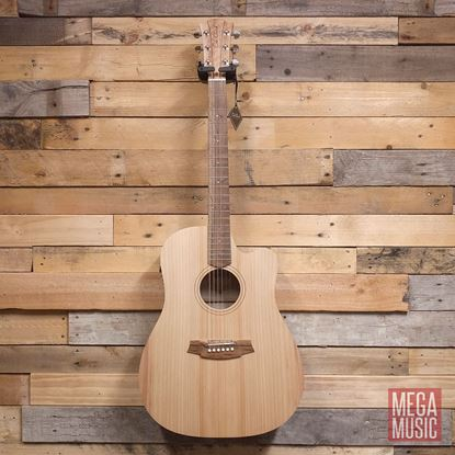 Cole Clark Fat Lady 1 Acoustic Guitar in Bunya Maple - front view