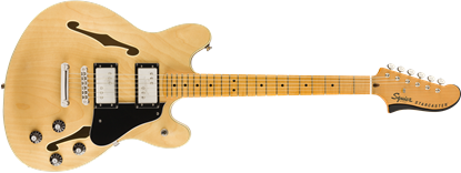 Squier Classic Vibe Starcaster Electric Guitar MN Maple - Front