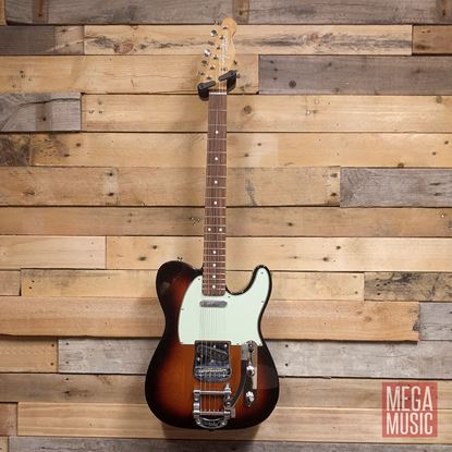 Fender Vintera 60s Telecaster Bigsby Electric Guitar PF - 3-Colour Sunburst