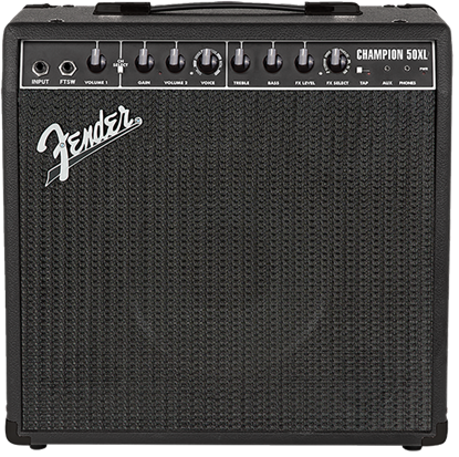 Fender Champion 50XL Guitar Amplifier Combo - Front