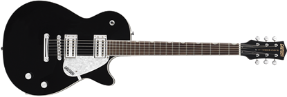 Gretsch G5425 Electromatic Jet Club Electric Guitar - Black - Front