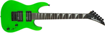 Jackson JS Series Dinky Minion JS1X Electric Guitar AM Neon Green - Front